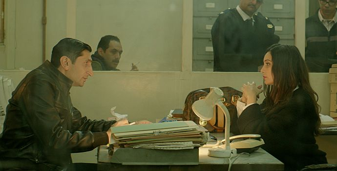 "Hania Amar & Fares Fares in ""Die Nile Hilton Affäre"" (The Nile Hilton Incident, 2017)"