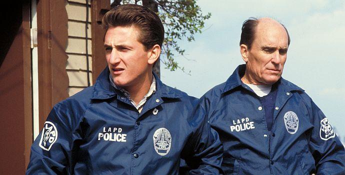 Sean Penn, Robert Duvall, Colors - Farben der Gewalt (querG) 1998