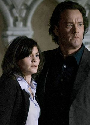 Audrey Tautou und Tom Hanks in The Da Vinci Code-Sakrileg