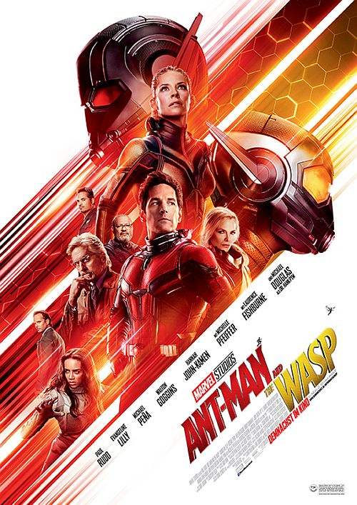 Filmplakat zu Ant-Man and the Wasp 3D
