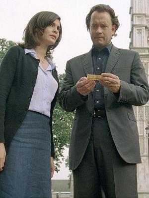 Audrey Tautou und Tom Hanks