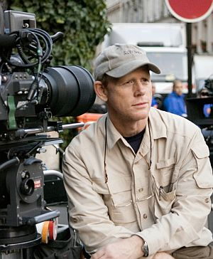 Regisseur Ron Howard am Set