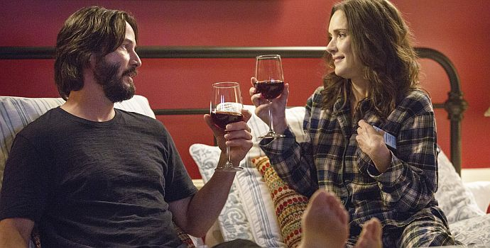 "Keanu Reeves & Winona Ryder auf zur ""Destination Wedding"" (2018)"