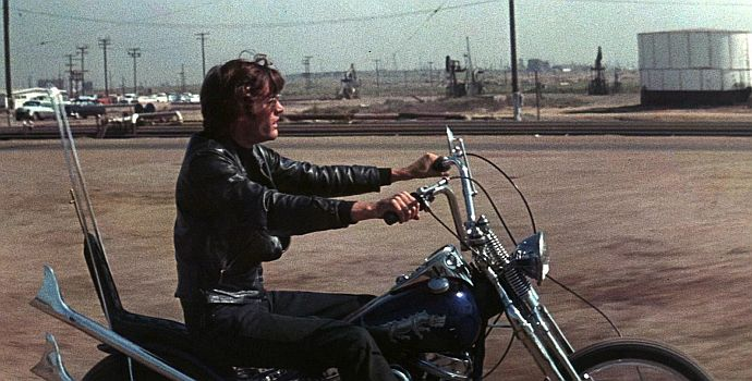 "Peter Fonda in ""Die wilden Engel"" (The wild Angels, 1966)"