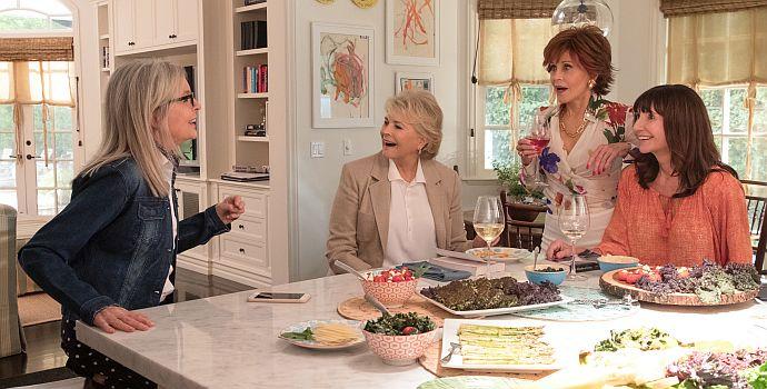 "Jane Fonda, Diane Keaton, Mary Steenburgen & Candice Bergen in ""Book Club - Das Beste kommt noch"" (2018)"