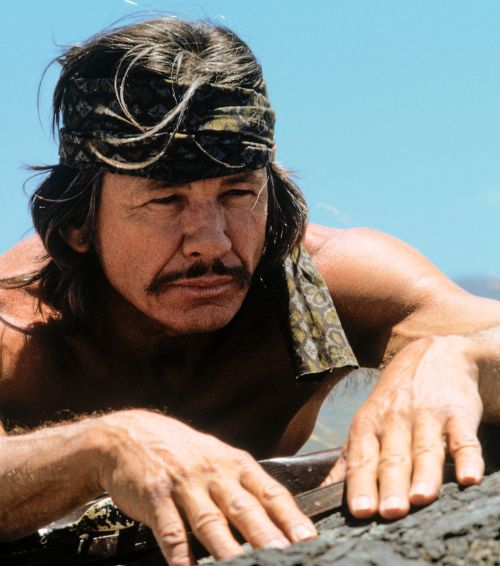 """Charles Bronson in """"Chatos Land"""" (Chato's Land, 1972)"""