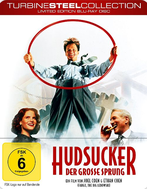Hudsucker - Der große Sprung [Turbine Steel Collection], The Hudsucker Proxy (BD) 1994