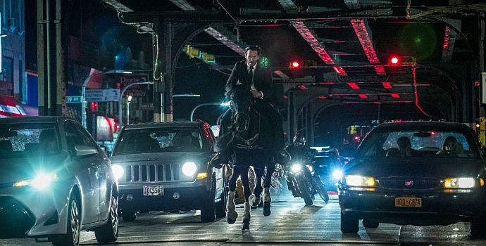 """Keanu Reeves in """"John Wick: Kapitel 3"""" (John Wick: Chapter 3, 2019)"""