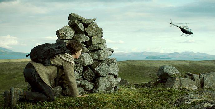 """Halldóra Geirharðsdóttir in """"Gegen den Strom"""" (Kona fer í stríð, 2018)"""