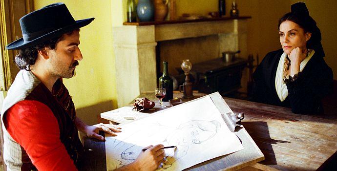 Oscar Isaac, Emmanuelle Seigner, Van Gogh - An der Schwelle zur Ewigkeit, At Eternity's Gate (querG) 2018