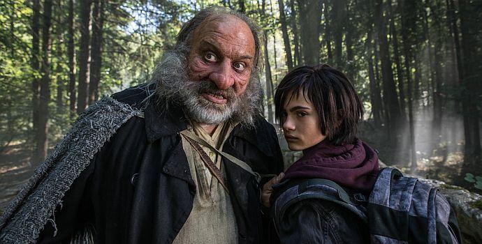 """Waldemar Kobus & Aaron Kissiov in """"Die Wolf-Gäng"""" (2019)"""