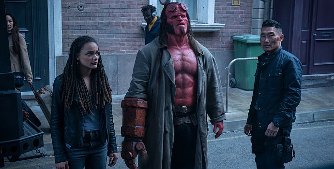 "David Harbour in ""Hellboy - Call of Darkness"" (2019)"