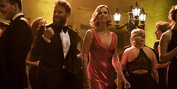 """Seth Rogen & Charlize Theron in """"Long Shot - Unwahrscheinlich, aber nicht unmöglich"""" (2019)"""
