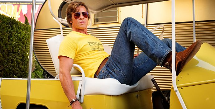 Brad Pitt, Once Upon a Time... In Hollywood (querG 03) 2019