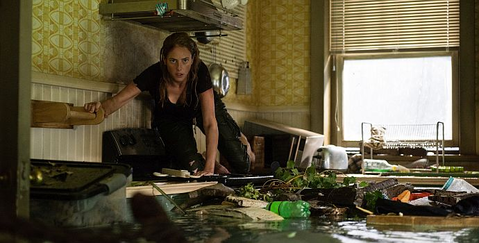 "Kaya Scodelario in ""Crawl"" (2018)"