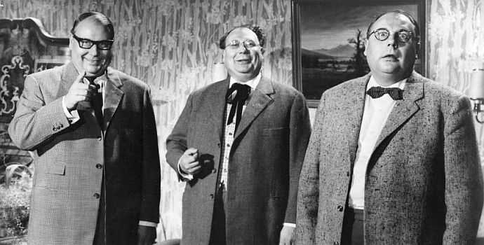 Drillinge an Bord (1959)