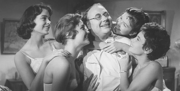 Vater, Mutter und neun Kinder (1958)