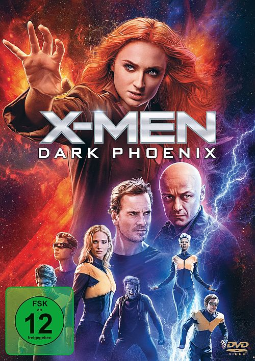 X-Men: Dark Phoenix (DVD) 2019