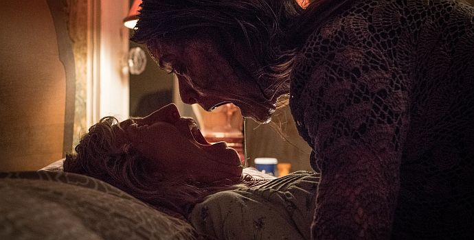 "Lin Shaye & Tara Westwood in ""The Grudge"" (2019)"