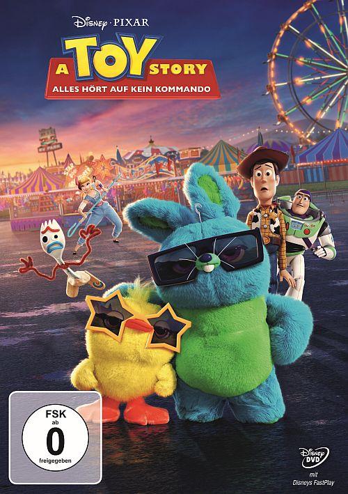 DVD Cover zu A Toy Story: Alles hört auf kein Kommando