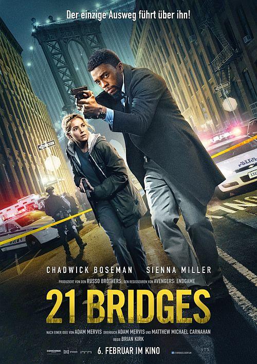 21 Bridges (Kino) 2019