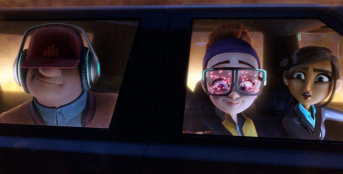 Spione Undercover - Eine wilde Verwandlung 3D, Spies in Disguise (querG) 2019