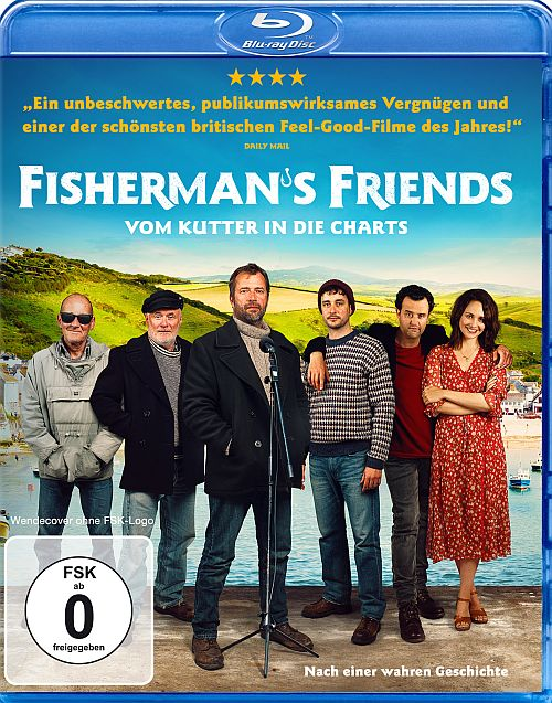 Blu-ray Cover zu Fisherman's Friends