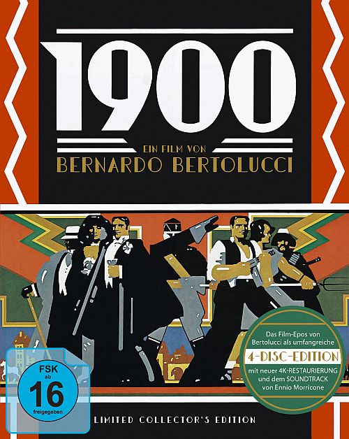 Blu-ray Cover zu 1900 - Limited Collectors Edition (3 Blu-rays + 1 CD)