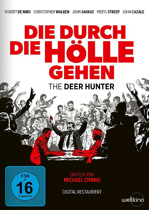 DVD Cover zu Die durch die Hölle gehen