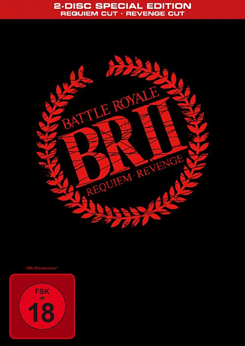 DVD Cover zu Battle Royale II (2-Disc Special Edition Requiem Cut - Revenge)