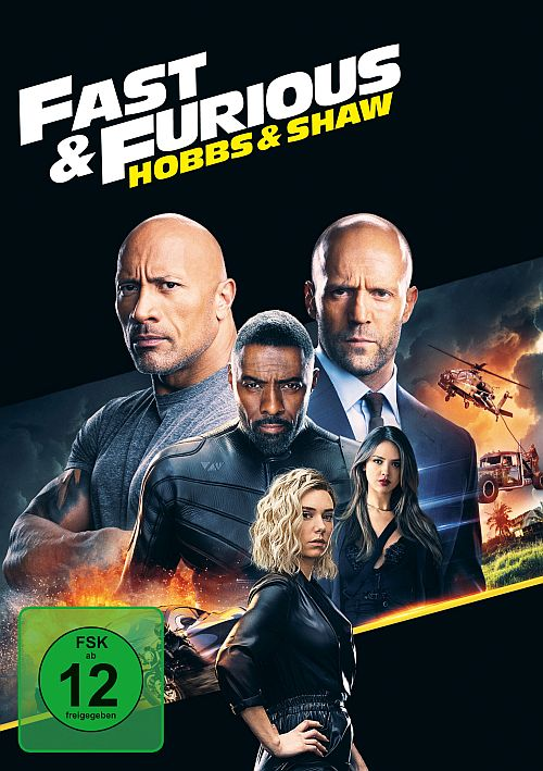 DVD Cover zu Fast & Furious: Hobbs & Shaw
