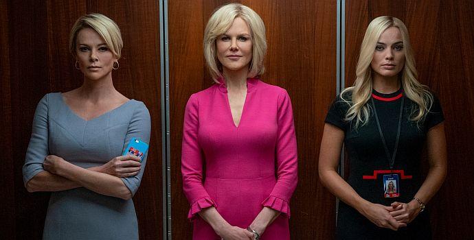 """Charlize Theron, Nicole Kidman & Margot Robbie in """"Bombshell - Das Ende des Schweigens"""" (2019)"""