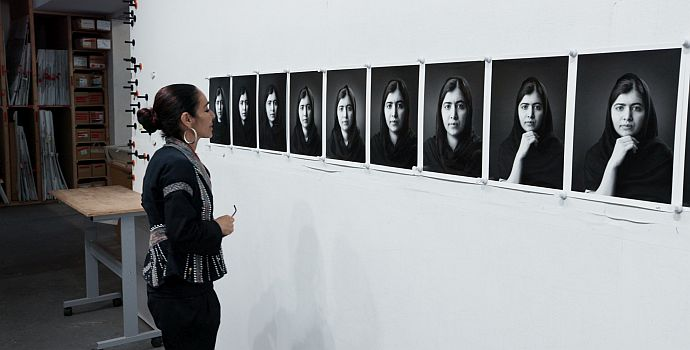 "Shirin Neshat in ""Body of Truth"" (2019)"