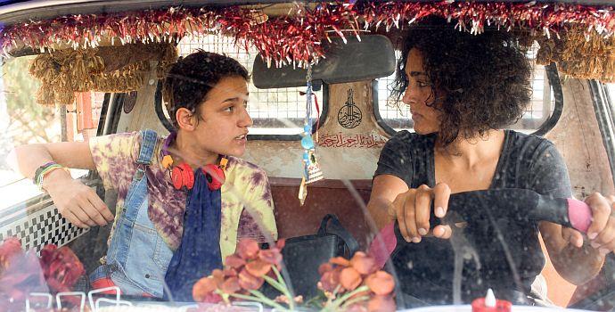 """Golshifteh Farahani & Aïcha Ben Miled in """"Auf der Couch in Tunis"""" (""""Un Divan à Tunis"""", 2019)"""