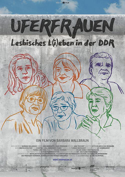 Uferfrauen - Lesbisches L(i)eben in der DDR (Kino) 2019