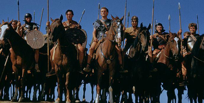 """Kirk Douglas ist """"Spartacus"""" (1960)"""