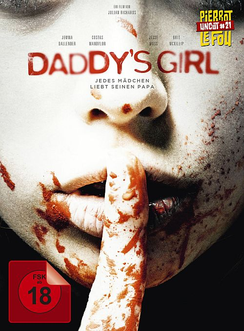 Daddy's Girl - Limited Edition Mediabook (uncut) (Blu-ray + DVD)  (MB, BD, DVD) 1996
