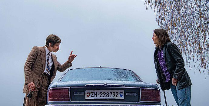 """Joel Basman & Marie Leuenberger in """"Bis wir tot sind oder frei"""" (""""Stürm: Bis wir tot sind oder frei"""", 2020)"""
