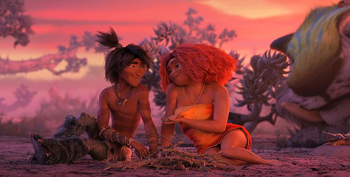 """Die Croods - Alles auf Anfang 3D (""""The Croods 2"""", 2020)"""