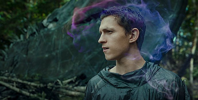 """Tom Holland in """"Chaos walking"""" (2017)"""
