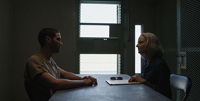 """Tahar Rahin & Jodie Foster in """"Der Mauretanier"""" (""""The Mauritanian"""", 2020)"""