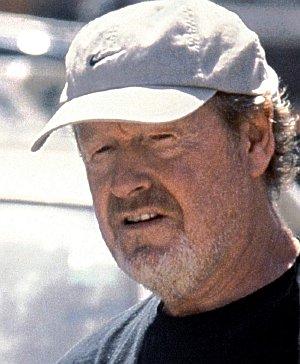 Ridley Scott am Set zu Black Hawk Down