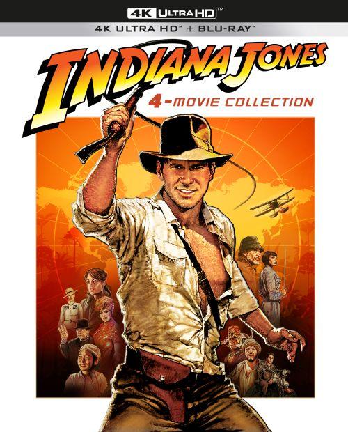 Indiana Jones 4K-Collection im Digipak (4K Ultra HD-Blu-ray + Blu-ray)