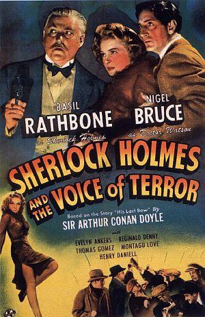 Die Stimme des Terrors GB-Plakat