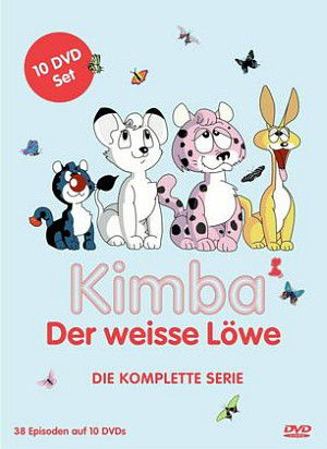 Kimba, der weiße Löwe - Die komplette Serie