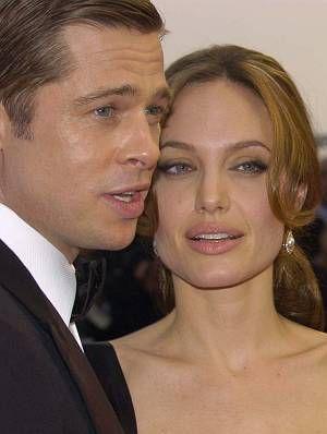"""Angelina Jolie und Brad Pitt bei der Premiere zu """"A Mighty Heart"""" in Cannes 2007."""