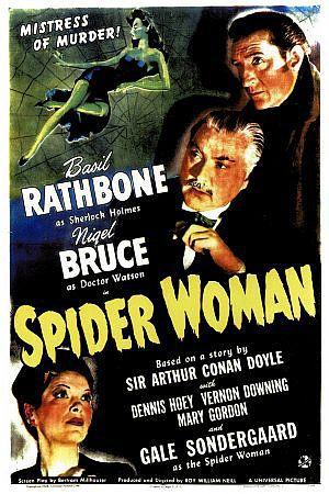 Sherlock Holmes: Das Spinnennest - englisches Plakat