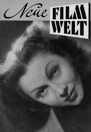 Das Cover der Neuen Filmwelt aus dem Jahr 1948.
