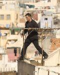 Matt Damon über den Dächern von Tanger.