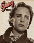 Maria Schell auf dem Cover der Gong 1954.
